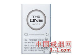 THE ONE(white) | 单盒价格上市后公布 目前